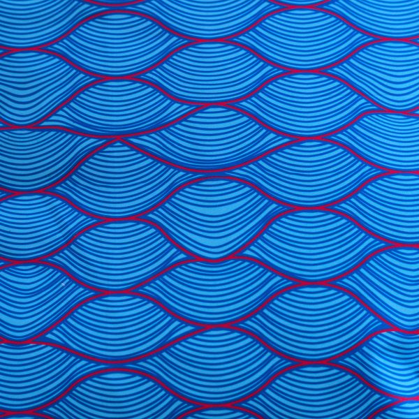 wave pillow recycled polyester