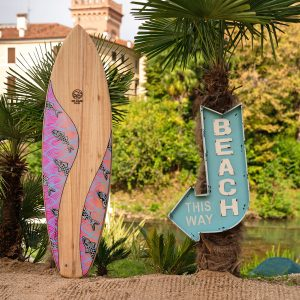 No-Made Board – Surfboard hand-painted by Eduardo Bolioli