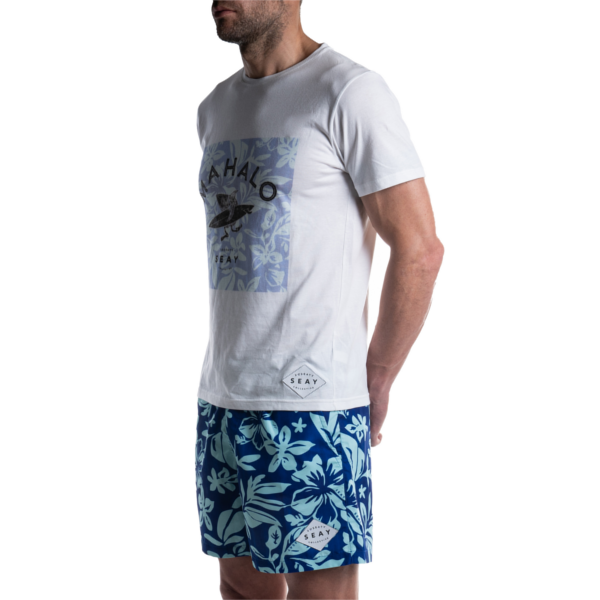 SEAY T-Shirt Hibiscus<br> 100% Organic Cotton