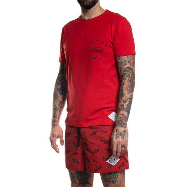 T-Shirt Kahala Fish Rossa