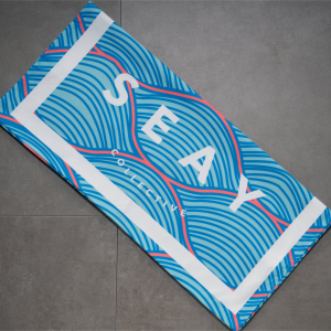 SEAY Beach Towel Waves<br> 80% Polyester / 20% Polyammide