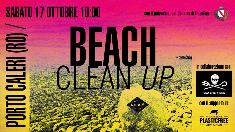 beach clean up marina porto caleri
