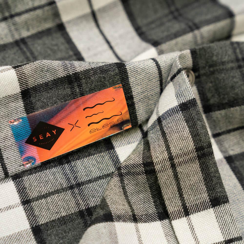 checked cotton flannel shirt camicia a quadri flanella seay etesia
