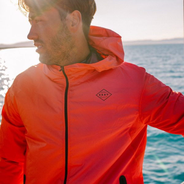 Gradient Sunset Windbreaker