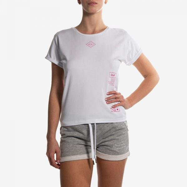 T-Shirt Bianca Logo