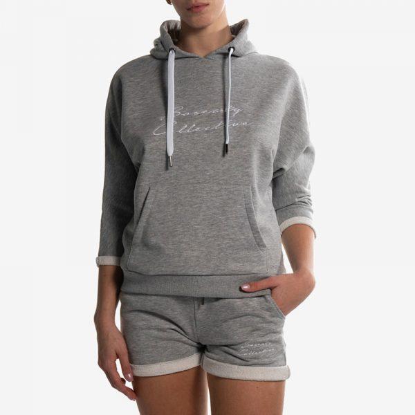 Hoodie Yoga Gray