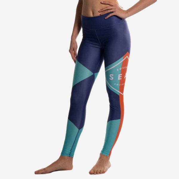 Blue Leggings Logo