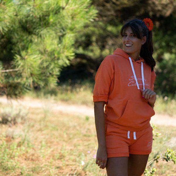 Sweat Shorts Arancione