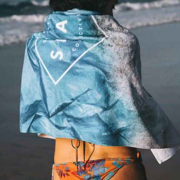 Beach Towel Plastic Ocean