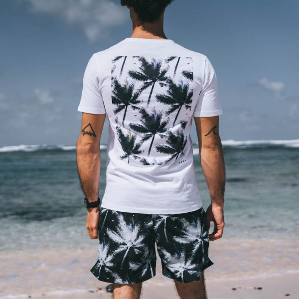 T-Shirt White Palms