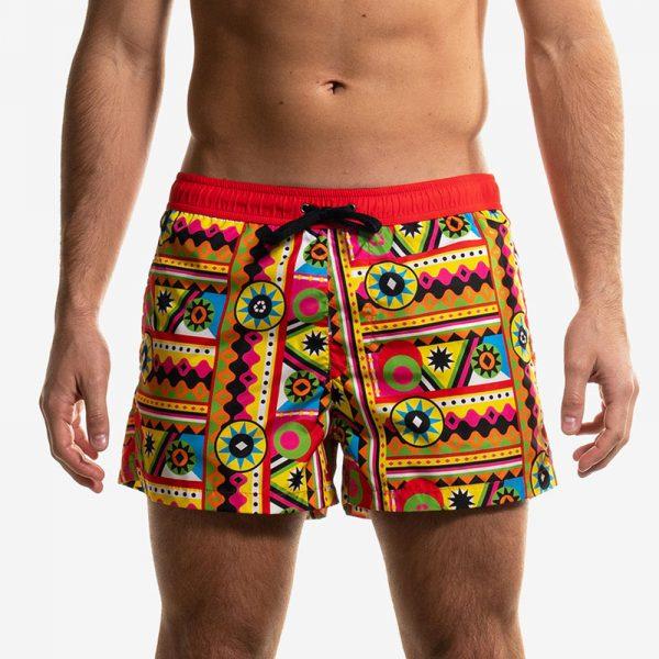 swim boxer short corto mexi front