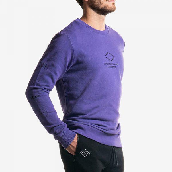 Sweatshirt Purple Logo