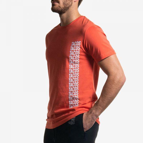 T-Shirt Orange Tacos