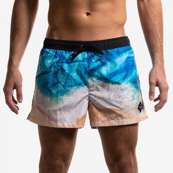 Swim Boxer Short Plastic Ocean