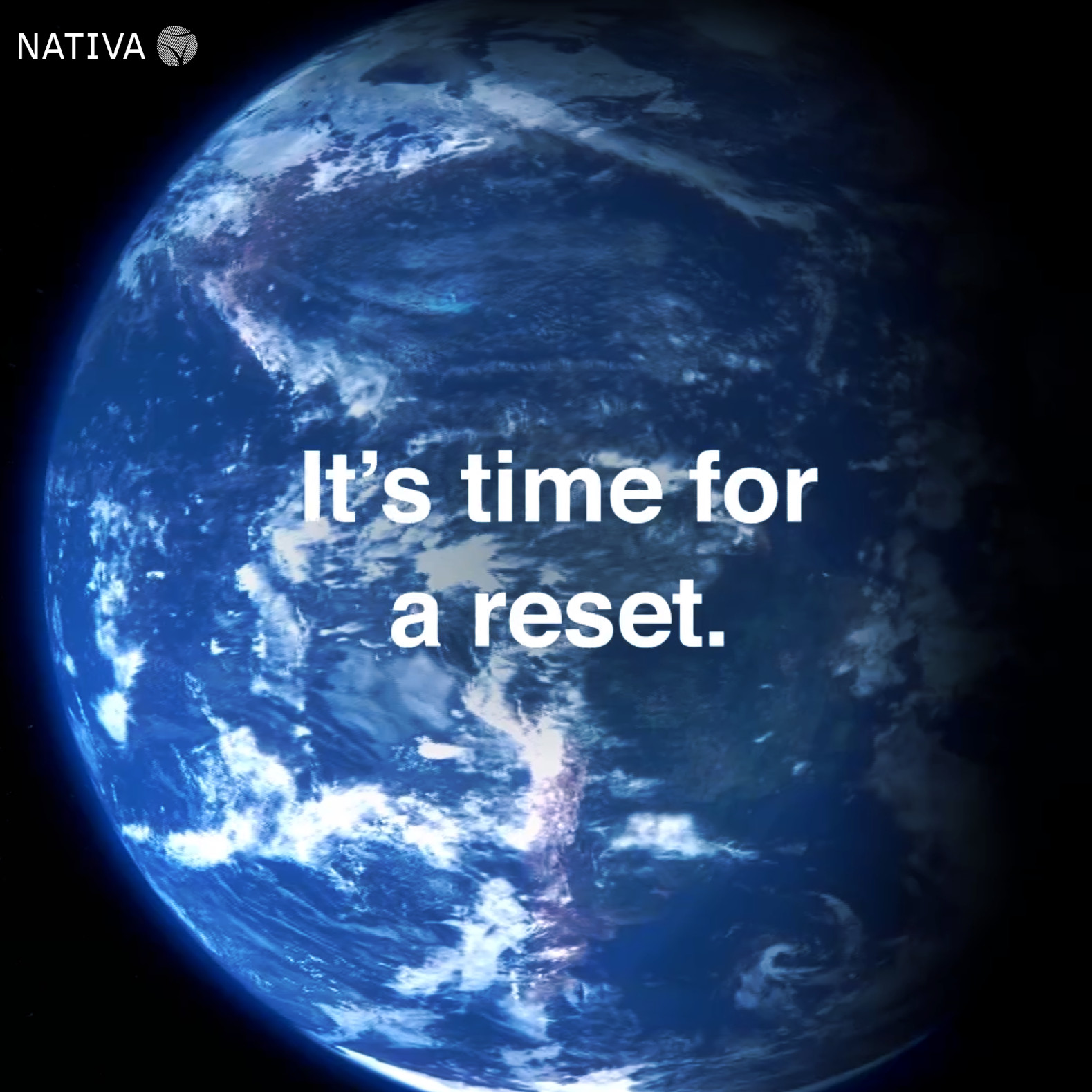 its time for a reset earth