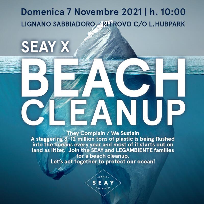 BEACH CLEAN UP LIGNANO SABBIADORO